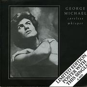 "George Michael Careless Whisper - Poster Sleeve UK 7"" vinyl"
