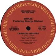 "George Michael Careless Whisper USA 12"" vinyl Promo"