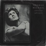 "George Michael Careless Whisper - Injection Moulded UK 7"" vinyl"