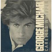 """George Michael Careless Whisper Brazil 7"""" vinyl"""