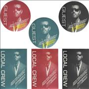 George Michael Cover To Cover: North America [Tour Passes] USA tour pass Promo