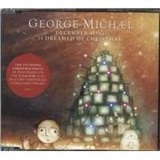 George Michael December Song [I Dreamed Of Christmas] UK CD single