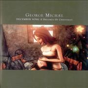 George Michael December Song (I Dreamed Of Christmas) UK CD single Promo