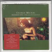 George Michael December Song (I Dreamed Of Christmas) - 2nd UK CD single