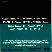 "George Michael Don't Let The Sun Go Down On Me Japan 3"" CD single Promo"