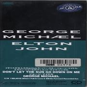 "George Michael Don't Let The Sun Go Down On Me Japan 3"" CD single"