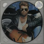 George Michael Faith Australia picture disc LP
