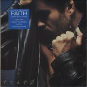 Click here for more info about 'George Michael - Faith - Stickered sleeve'