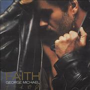 George Michael Faith - Picture CD Germany CD album