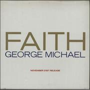 George Michael Faith - Promo Outer Gatefold P/s Japan vinyl LP Promo