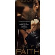 George Michael Faith - Stickered & Sealed longbox USA CD album