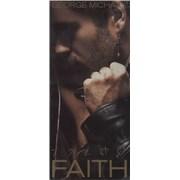 George Michael Faith - Sealed longbox USA CD album