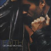 George Michael Faith - Spine Obi-sticker Japan CD album
