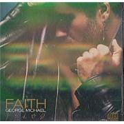 George Michael Faith - hologram insert USA CD album