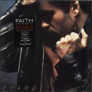George Michael Faith - stickered shrink USA vinyl LP