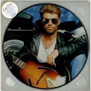 George Michael Faith Australia picture disc LP