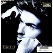 """George Michael Faith Japan 7"""" vinyl"""