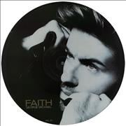 "George Michael Faith UK 12"" picture disc"