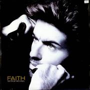 "George Michael Faith UK 12"" vinyl"