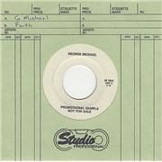 """George Michael Faith Canada 7"""" vinyl Promo"""