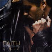 George Michael Faith USA CD album Promo
