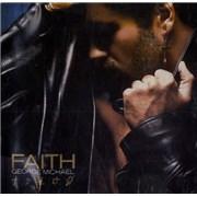 George Michael Faith USA CD album Promo