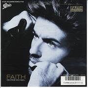 "George Michael Faith Japan 7"" vinyl Promo"