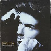 George Michael Faith UK CD single