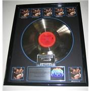George Michael Faith USA award disc