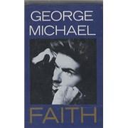 George Michael Faith UK cassette single