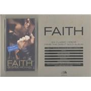 George Michael Faith UK display Promo