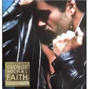 George Michael Faith UK 3-disc CD/DVD Set