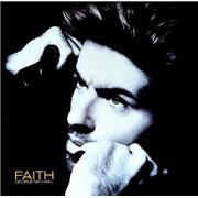 """George Michael Faith USA 12"""" vinyl"""