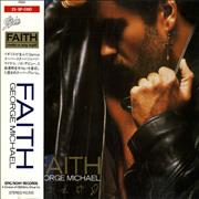 George Michael Faith Japan CD album Promo