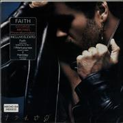 George Michael Faith Mexico vinyl LP