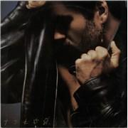 George Michael Faith South Africa vinyl LP
