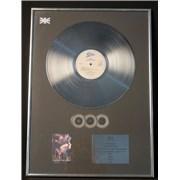 George Michael Faith UK award disc