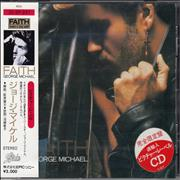 George Michael Faith Japan CD album