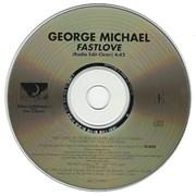 George Michael Fast Love USA CD single Promo
