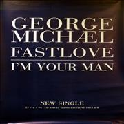 George Michael Fastlove UK poster Promo