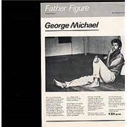 "George Michael Father Figure Brazil 12"" vinyl Promo"