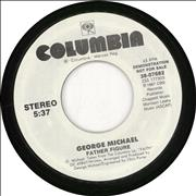 "George Michael Father Figure USA 7"" vinyl Promo"