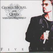 George Michael Five Live - 6-track Netherlands CD single