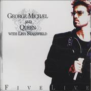 George Michael Five Live - sealed USA CD single