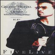 George Michael Five Live EP UK cassette single