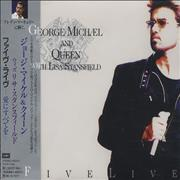 George Michael Five Live Ep Japan CD single