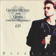 Click here for more info about 'George Michael - Five Live Ep'