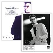 George Michael Five Live USA press pack Promo
