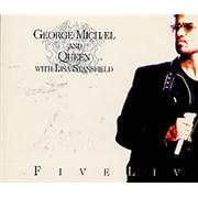 George Michael Five Live Australia CD single