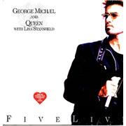 "George Michael Five Live Brazil 12"" vinyl"